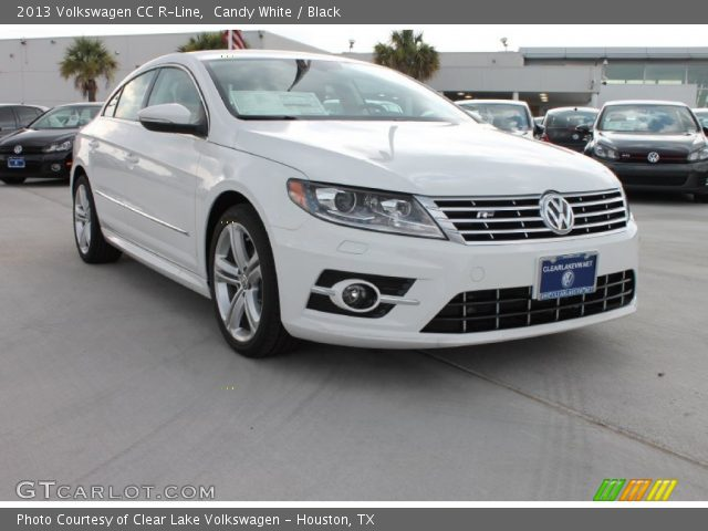 candy white 2013 volkswagen cc r line black interior vehicle archive 82970177. Black Bedroom Furniture Sets. Home Design Ideas