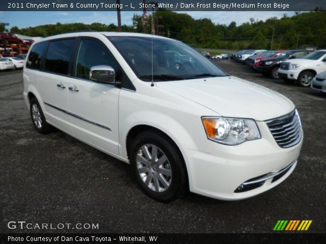 Stone white 2011 chrysler town country touring l for Stone s town country motors