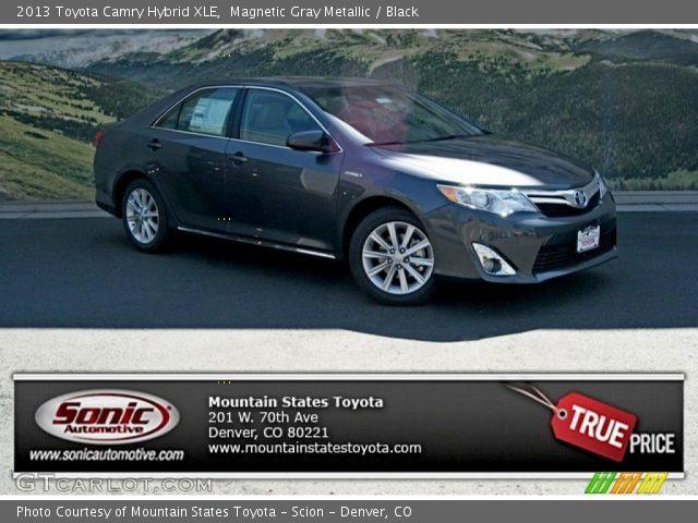 Magnetic Gray Metallic 2013 Toyota Camry Hybrid Xle
