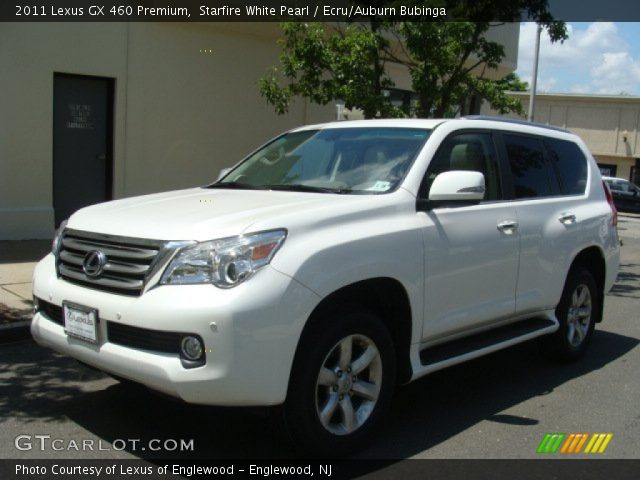 starfire white pearl 2011 lexus gx 460 premium ecru. Black Bedroom Furniture Sets. Home Design Ideas
