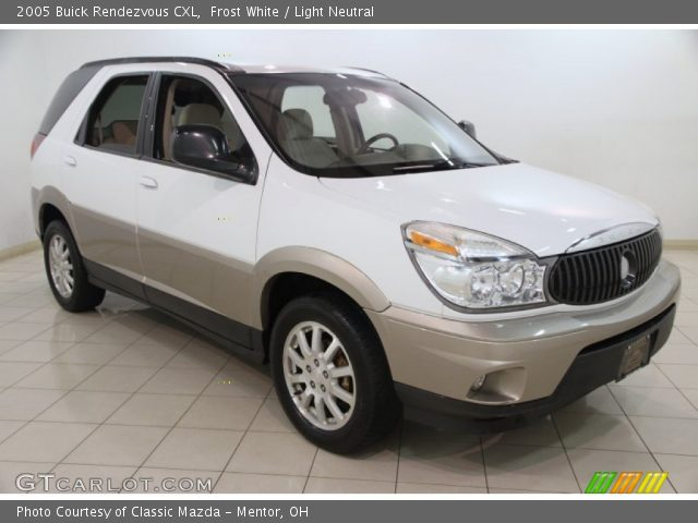 2005 Buick Rendezvous CXL in Frost White