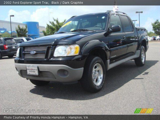 Black 2002 Ford Explorer Sport Trac Dark Graphite Interior Vehicle Archive