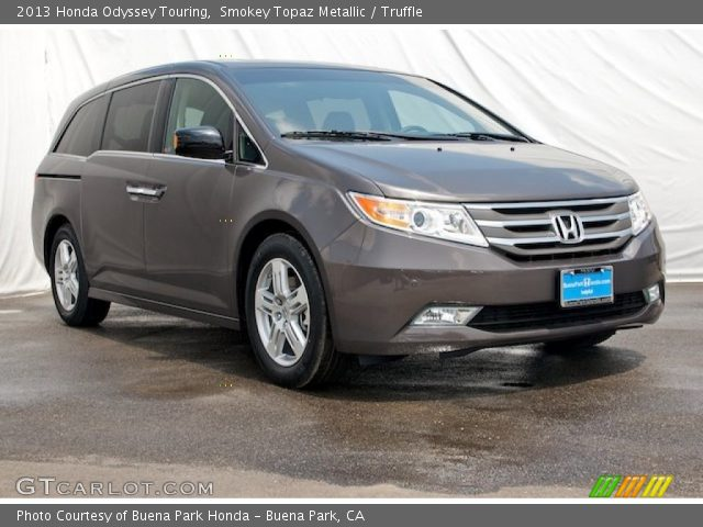 2013 Honda Odyssey Touring in Smokey Topaz Metallic