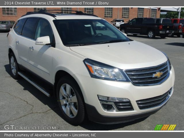 white diamond tricoat 2014 chevrolet traverse ltz. Black Bedroom Furniture Sets. Home Design Ideas