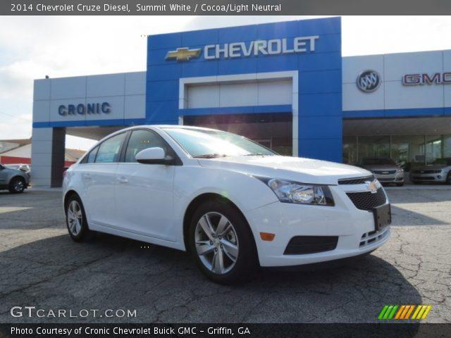 2014 Chevrolet Cruze Diesel in Summit White