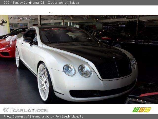 2004 Bentley Continental GT  in Glacier White
