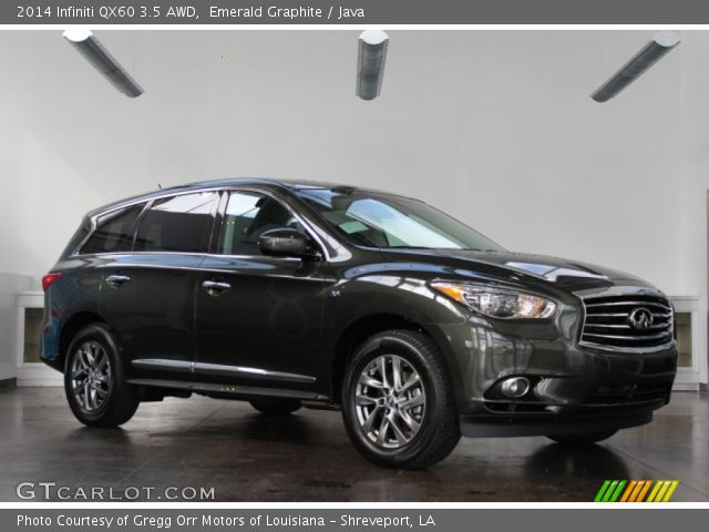 emerald graphite 2014 infiniti qx60 3 5 awd java. Black Bedroom Furniture Sets. Home Design Ideas