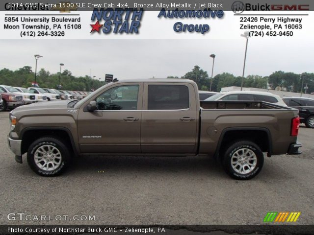 metallic 2014 gmc sierra 1500 sle crew cab 4x4 with jet black interior. Cars Review. Best American Auto & Cars Review