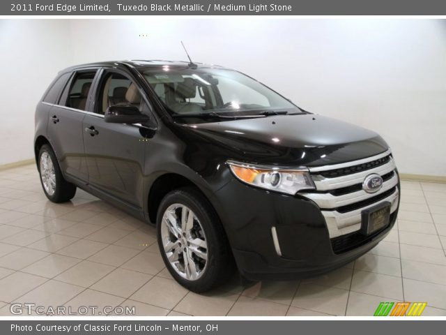 tuxedo black metallic 2011 ford edge limited medium. Black Bedroom Furniture Sets. Home Design Ideas