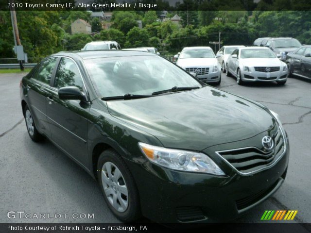2010 Toyota Camry For Sale >> Aloe Green Metallic - 2010 Toyota Camry LE - Bisque Interior | GTCarLot.com - Vehicle Archive ...