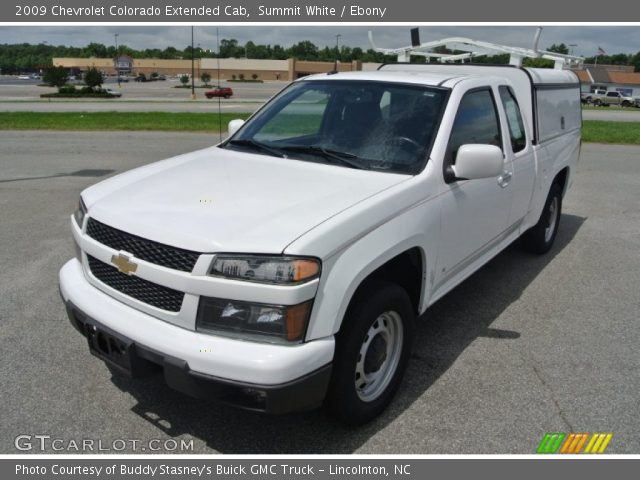 summit white 2009 chevrolet colorado extended cab ebony interior vehicle. Black Bedroom Furniture Sets. Home Design Ideas