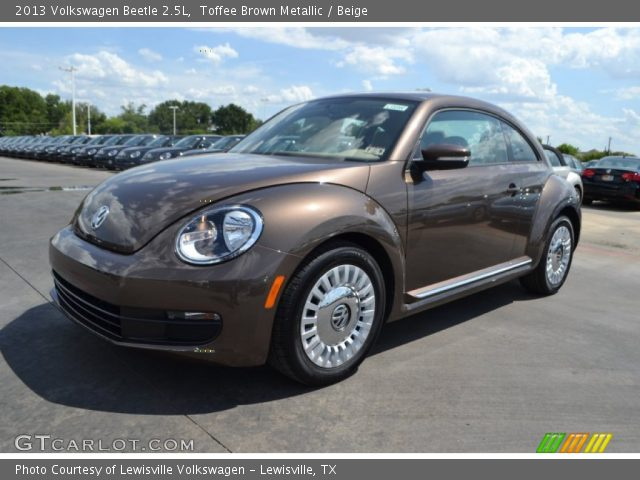 toffee brown metallic 2013 volkswagen beetle 2 5l. Black Bedroom Furniture Sets. Home Design Ideas