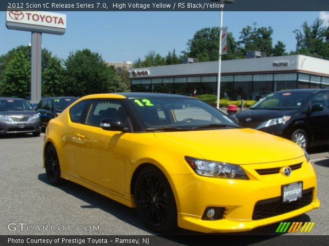 2012 Scion tC Release Series 7.0 in High Voltage Yellow