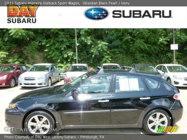 Obsidian Black Pearl 2011 Subaru Impreza Outback Sport Wagon