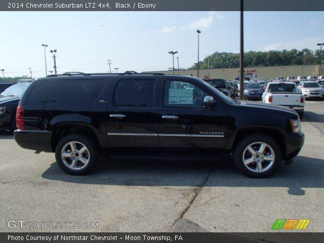 Black 2014 Chevrolet Suburban Ltz 4x4 Ebony Interior Vehicle Archive 83377797
