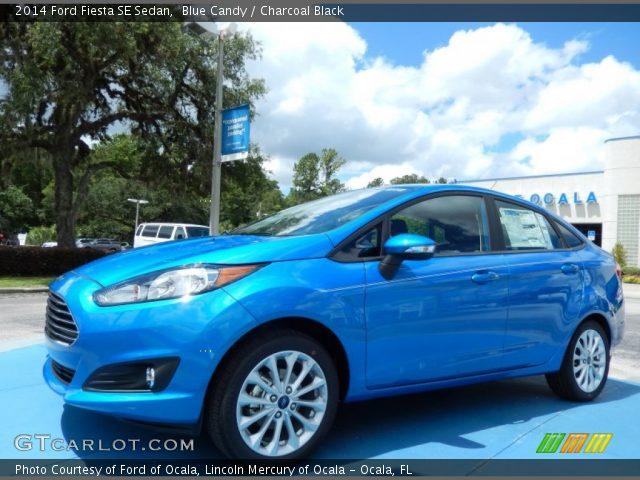 Ford fiesta 2014 blue
