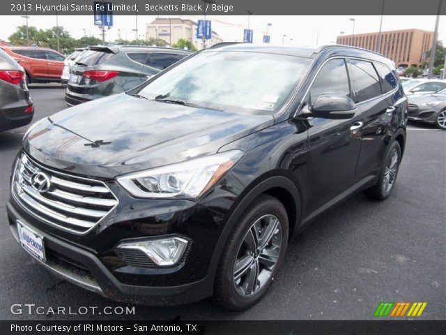becketts black 2013 hyundai santa fe limited beige interior vehicle archive. Black Bedroom Furniture Sets. Home Design Ideas