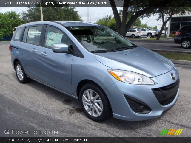 2013 Mazda MAZDA5 Sport in Clear Water Blue Mica