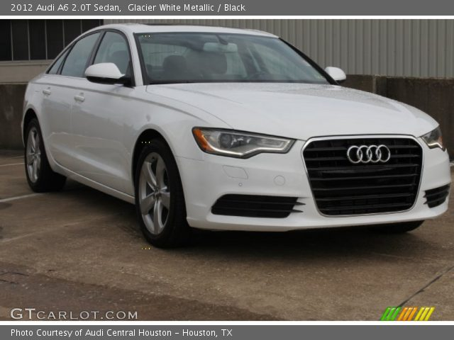 2012 Audi A6 2.0T Sedan in Glacier White Metallic