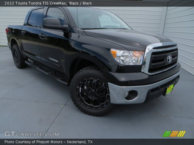 2013 Toyota Tundra TSS CrewMax in Black