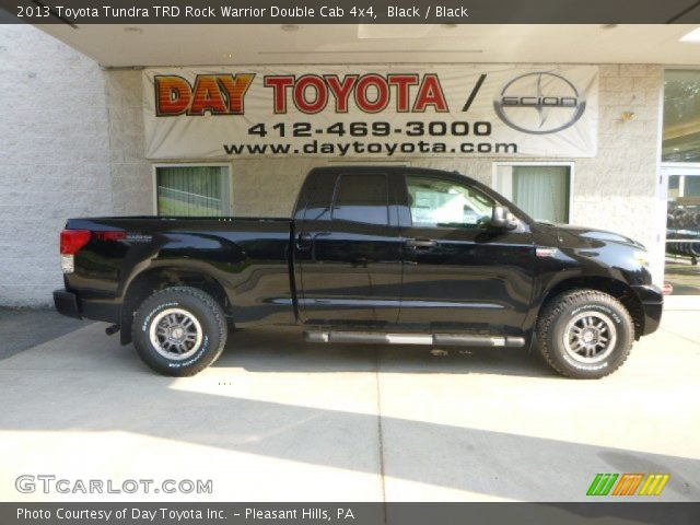 2013 Toyota Tundra TRD Rock Warrior Double Cab 4x4 in Black