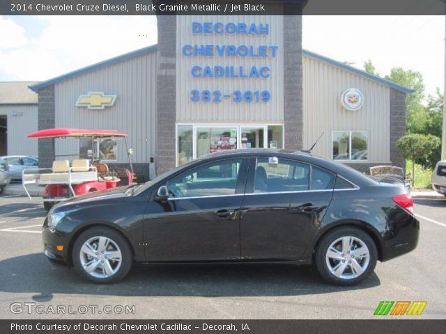 2014 Chevrolet Cruze Diesel in Black Granite Metallic
