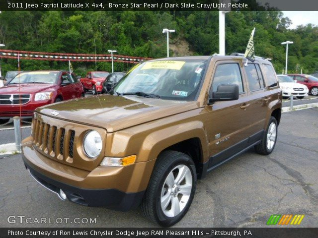 bronze star pearl 2011 jeep patriot latitude x 4x4. Black Bedroom Furniture Sets. Home Design Ideas