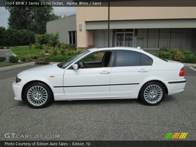 alpine white 2004 bmw 3 series 330xi sedan sand. Black Bedroom Furniture Sets. Home Design Ideas