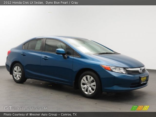 dyno blue pearl 2012 honda civic lx sedan gray. Black Bedroom Furniture Sets. Home Design Ideas