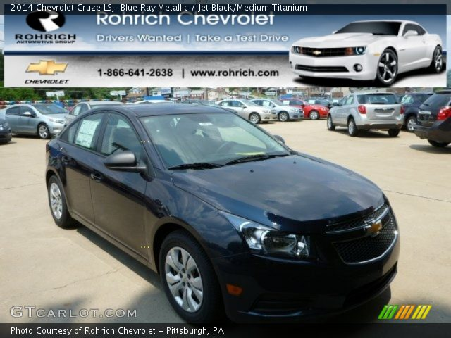 2014 Chevrolet Cruze LS in Blue Ray Metallic