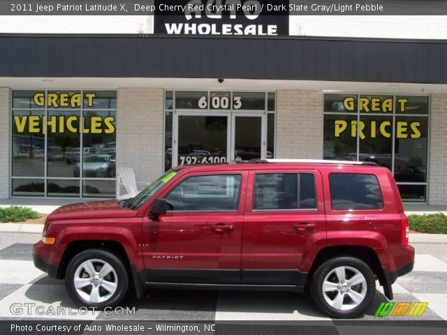 deep cherry red crystal pearl 2011 jeep patriot latitude. Black Bedroom Furniture Sets. Home Design Ideas