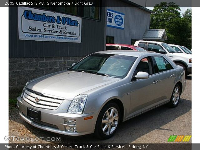 2005 Cadillac STS V8 in Silver Smoke