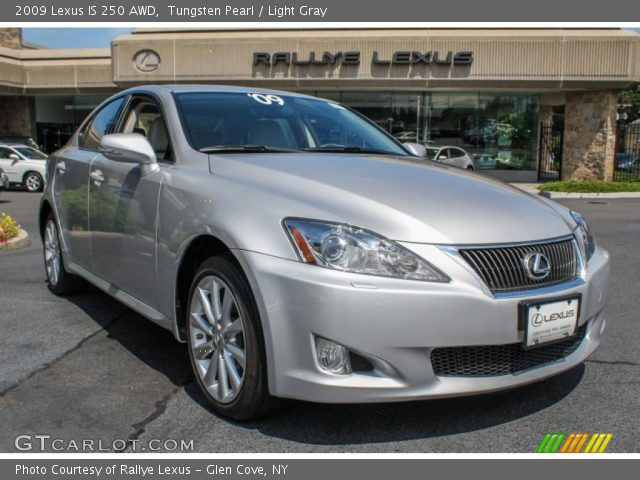 tungsten pearl 2009 lexus is 250 awd light gray interior vehicle archive. Black Bedroom Furniture Sets. Home Design Ideas