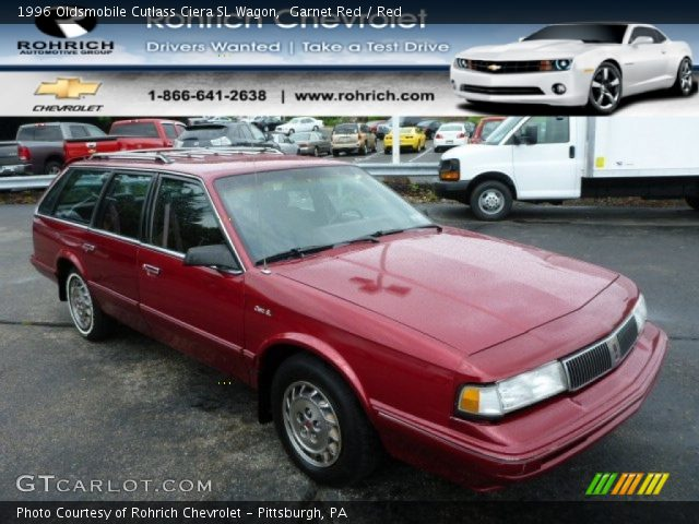 garnet red 1996 oldsmobile cutlass ciera sl wagon red. Black Bedroom Furniture Sets. Home Design Ideas