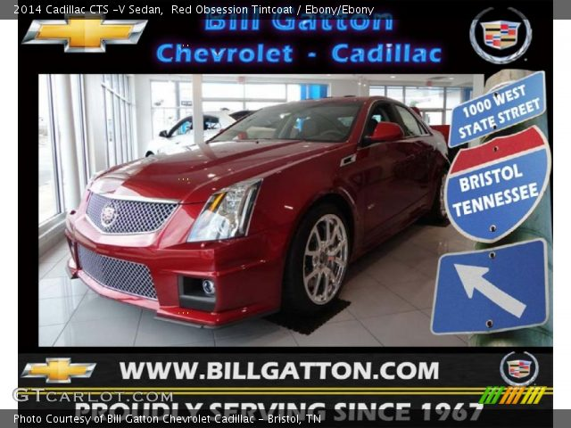 2014 Cadillac CTS -V Sedan in Red Obsession Tintcoat