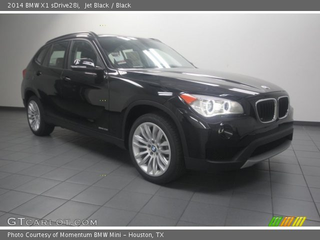 jet black 2014 bmw x1 sdrive28i black interior vehicle archive 83724240. Black Bedroom Furniture Sets. Home Design Ideas