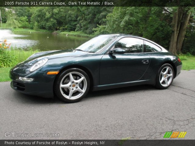 2005 Porsche 911 Carrera Coupe in Dark Teal Metallic