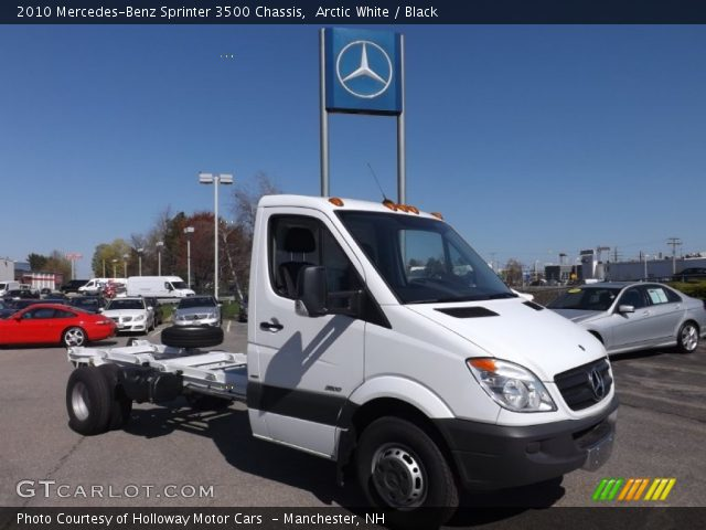 2010 Mercedes-Benz Sprinter 3500 Chassis in Arctic White