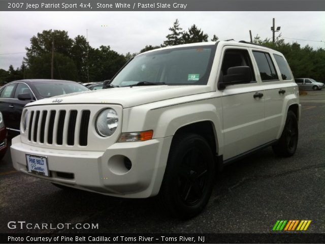 stone white 2007 jeep patriot sport 4x4 pastel slate. Black Bedroom Furniture Sets. Home Design Ideas