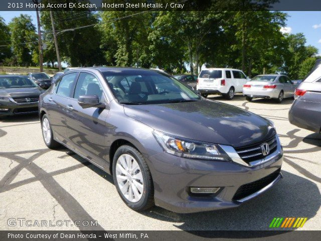 2013 Honda Accord EX Sedan in Modern Steel Metallic
