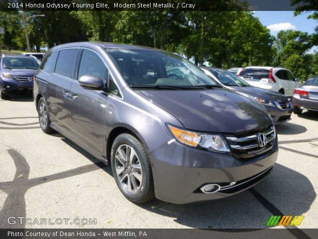 2014 Honda Odyssey Touring Elite in Modern Steel Metallic