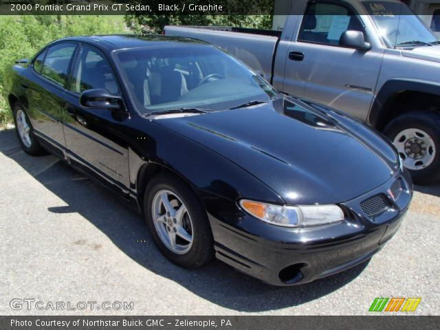 black 2000 pontiac grand prix gt sedan graphite interior vehicle archive. Black Bedroom Furniture Sets. Home Design Ideas