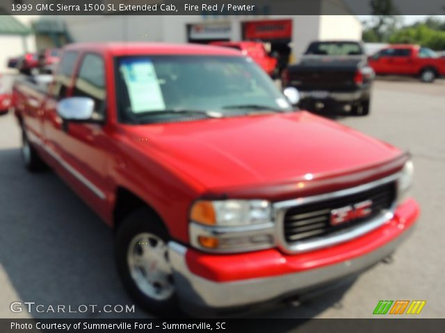 1999 GMC Sierra 1500 SL Extended Cab in Fire Red