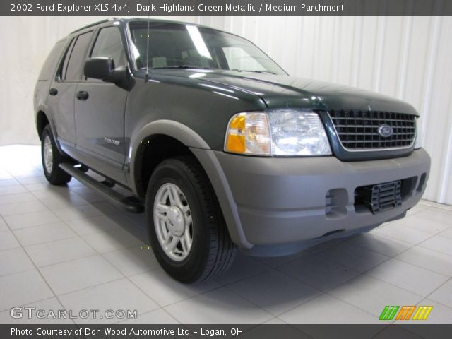 2002 Ford Explorer XLS 4x4 in Dark Highland Green Metallic