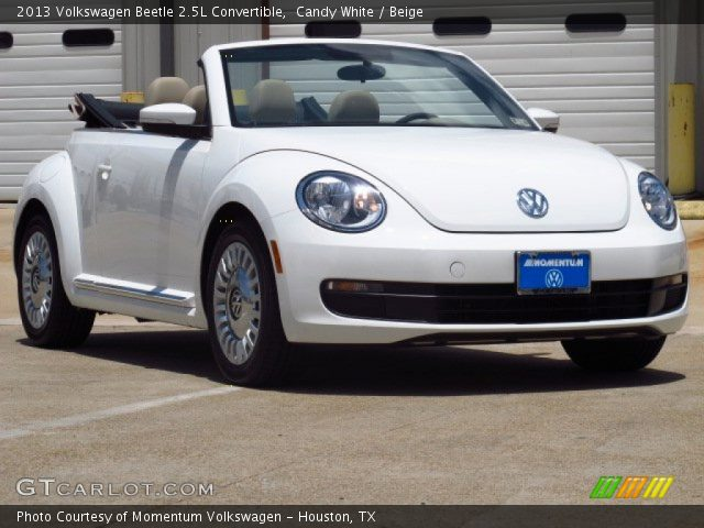 candy white 2013 volkswagen beetle 2 5l convertible. Black Bedroom Furniture Sets. Home Design Ideas