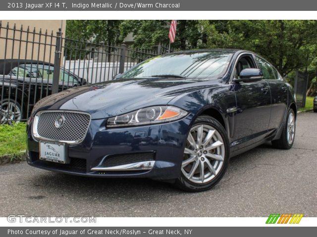 indigo metallic 2013 jaguar xf i4 t dove warm charcoal interior vehicle. Black Bedroom Furniture Sets. Home Design Ideas