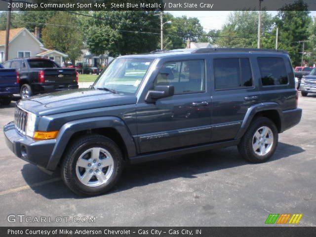 2008 jeep commander stone white 18354451