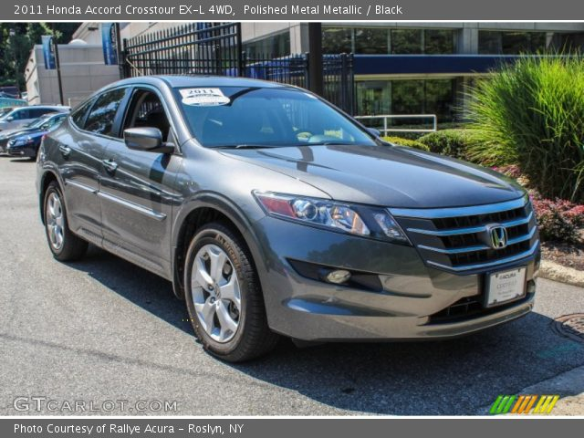 Polished Metal Metallic 2011 Honda Accord Crosstour Ex L