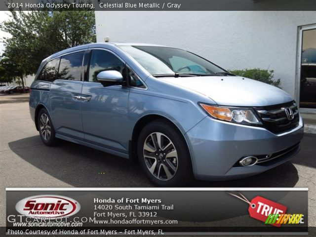 2014 Honda Odyssey Touring in Celestial Blue Metallic