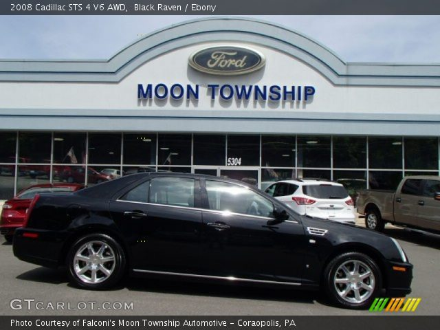 2008 Cadillac STS 4 V6 AWD in Black Raven
